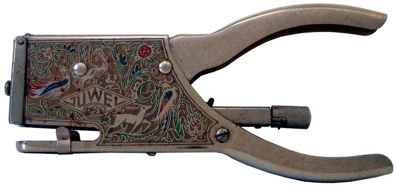 Elastic juwel engraved