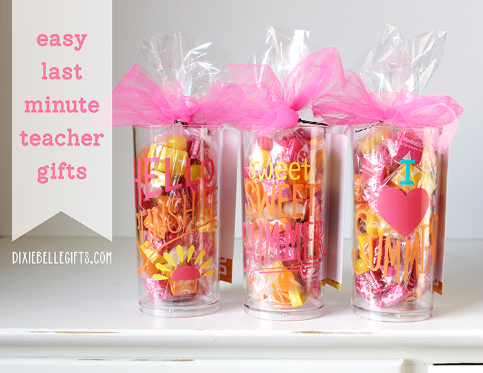 easy last minute teacher gifts  dixiebelle gifts store